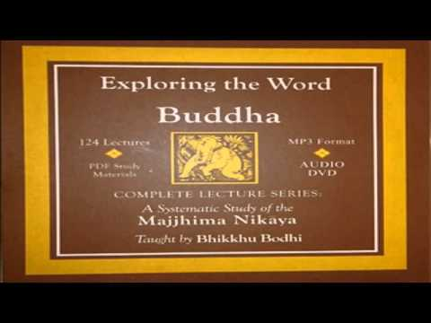 Vitakkasanthana - The removal of distracting thoughts, Majjhima Nikaya Bhikkhu  Bodhi Part 40 mp3
