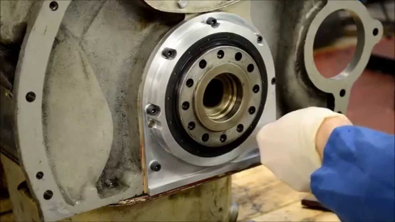 hight resolution of fitting instructions for rear crank seal modification ue7488kit youtube