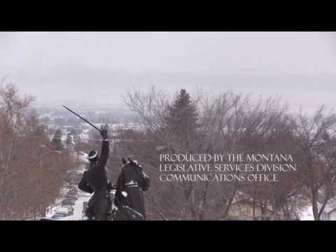 First Day of the 65th Montana Legislature and Inauguration Day