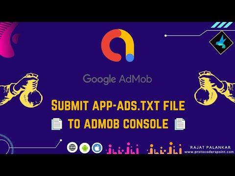 Verify admob app-ads.txt | Submit app ads.txt file to admob - How long it take to fix app-ads.txt.