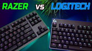 Logitech G Pro X VS Razer Huntsman TE Keyboard Comparison