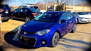 2014 Toyota Corolla S Plus Start Up, Review, Exhaust, & Test Drive @ MOTORCARS TOYOTA