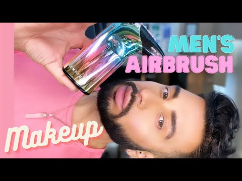 Airbrush Glowy Makeup Mens Grooming