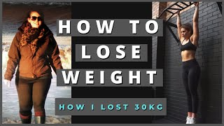How to Lose Weight and Maintain It - Nutrition & Exercise?