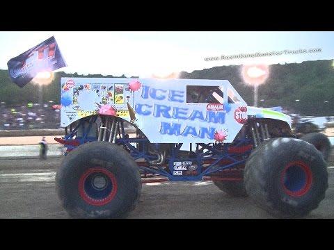 The ICE CREAM MAN® highlights,7/10-7/13,Monster Jam,W.Lebanon,NY