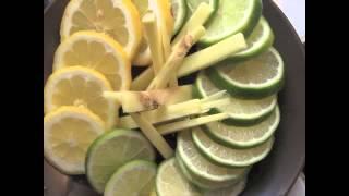 Lemon Lime Ginger Syrup