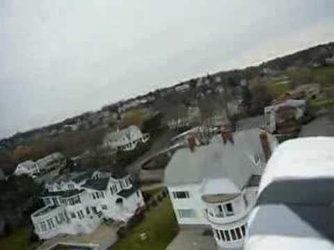 R/C Plane Aerial Video Victorian Mansion Swampscott MA