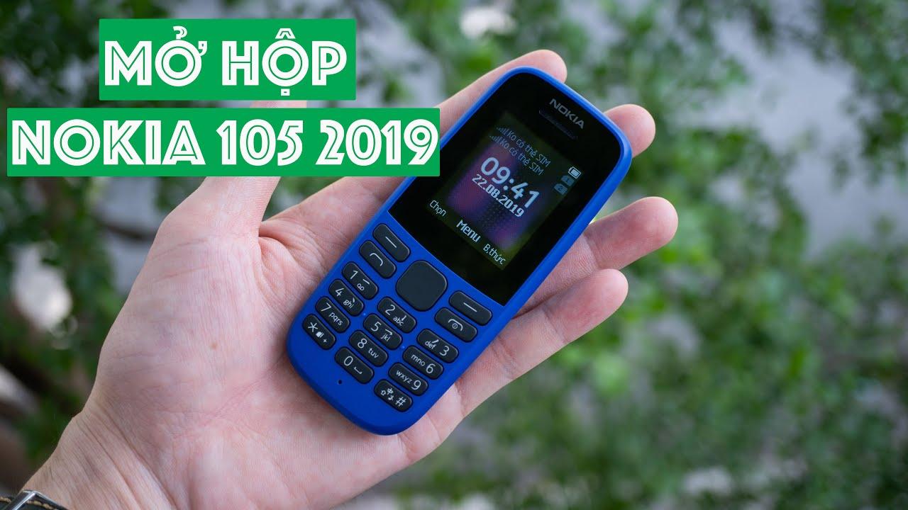 Mở hộp Nokia 105 2019: bàn phím bấm êm, hoàn thiện tốt, giá rẻ 359,000đ