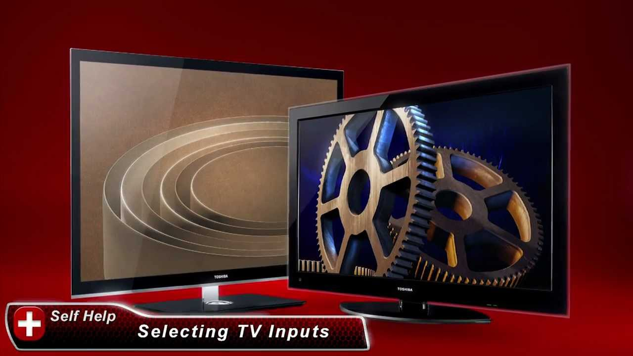 Toshiba How-To: Connect Devices to your TV Using Inputs - YouTube