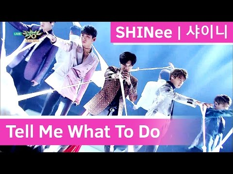 SHINee - Tell Me What To Do [Music Bank HOT Stage / 2016.11.25]