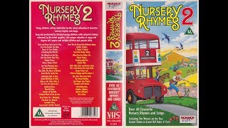 Nursery Rhymes 2 (1990 UK VHS)
