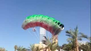 Chris McDougal BASE Jump From Al Hamra Tower - Kuwait 414 Meters