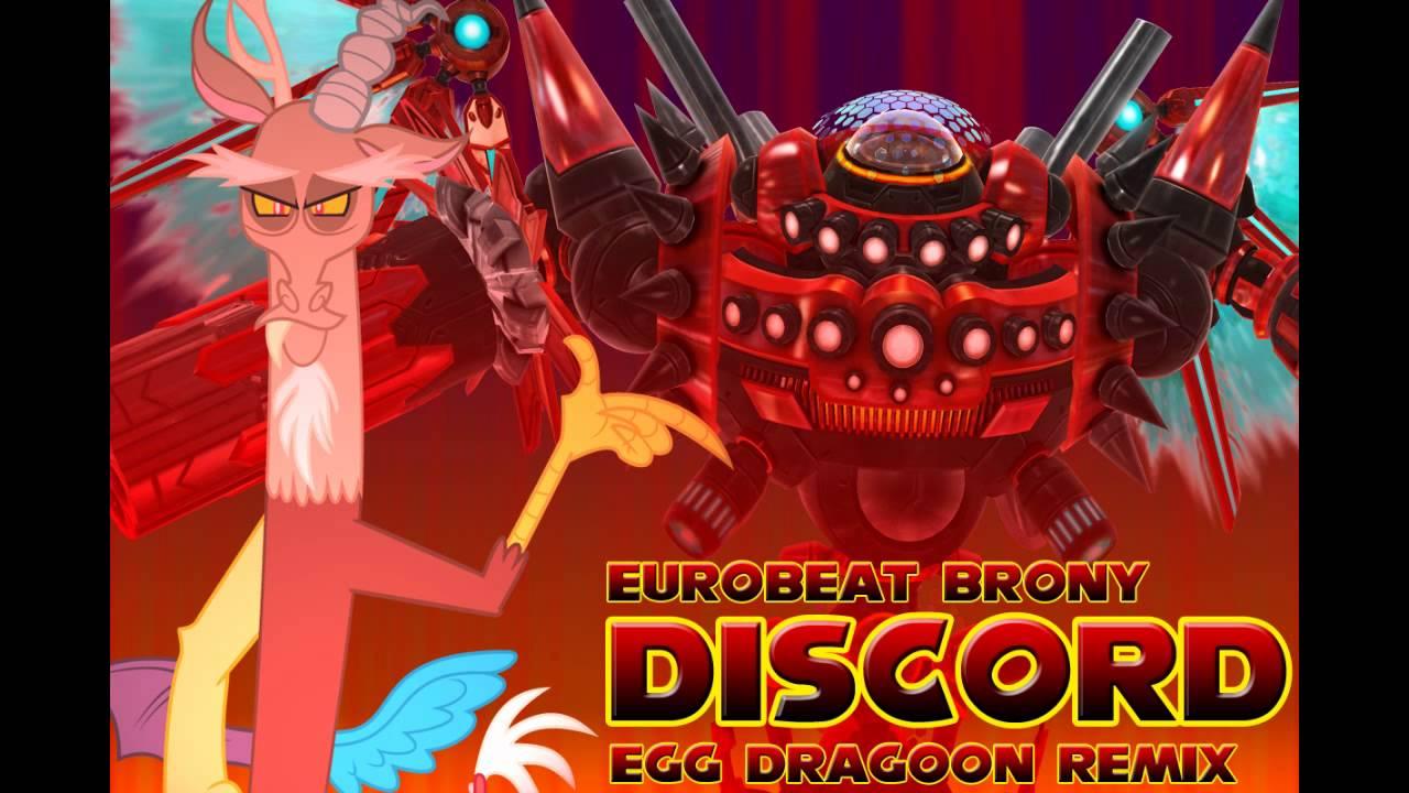 Eurobeat Brony - Discord (The Living Tombstone Remix ...
