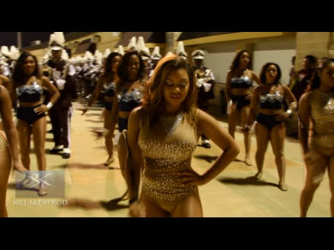 Texas Southern University Marching Band - Marching Out - 2016