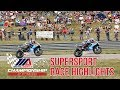 Supersport Race Highlights at The MotoAmerica Championship of Pittsburgh