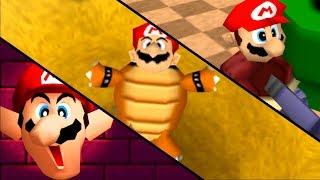 Mario Party 2: All Funny Mario Transformations