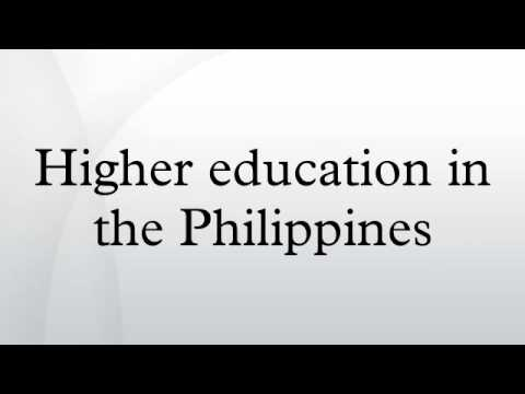 Higher education in the Philippines