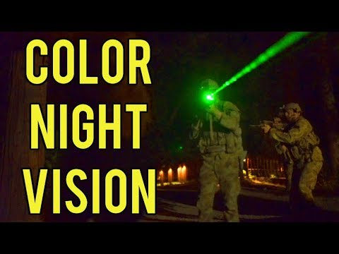 Color Night Vision at Evike Airsoft Camp | Night Game with Red and Green Tracers