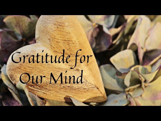 Gratitude for Our Mind