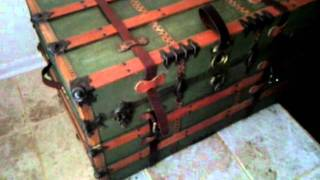 Steamer Trunk Restored