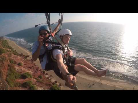You looking for adventure, CanFly Varkala and get your Tandem Flight.