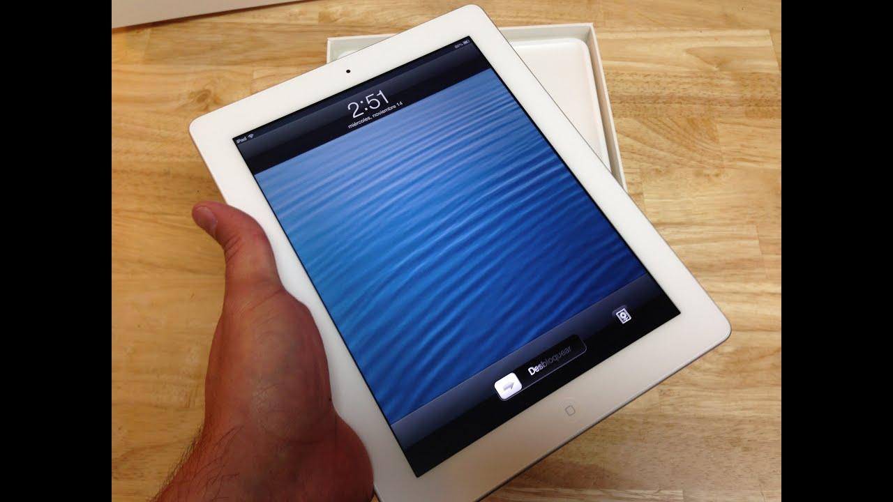 Unboxing iPad cuarta generación, primeras impresiones ...