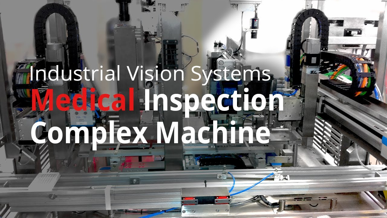 Complex Machine Vision System For Quality Control Youtube