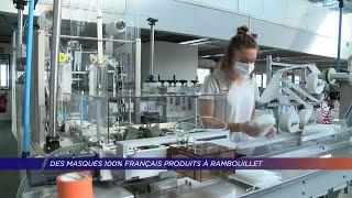 Yvelines | Des masques français produits à Rambouillet