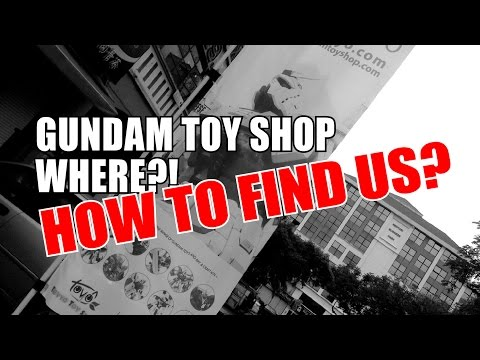 How to Come to Gundam Toy Shop Using KL NPE Highway