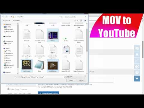 How to Convert MOV to YouTube using Office-Converter.com