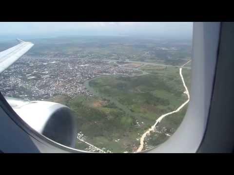 Cebu Pacific 5J 887 - Landing at Awang Airport Cotabato City