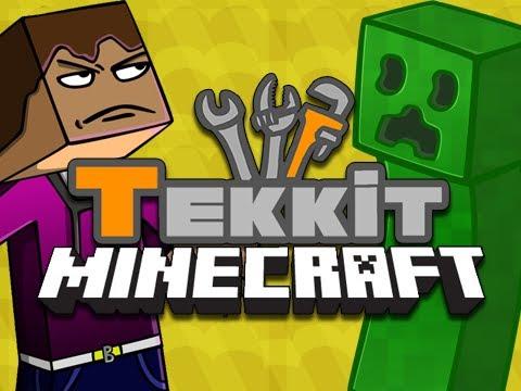 Tekkit: Episode 18 - Black Hole Band! [Minecraft Mod]