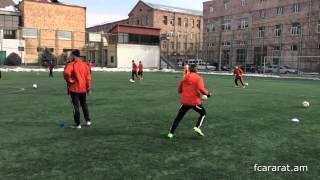 FC Ararat Yerevan first training in 2015