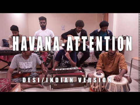 Havana (Camila Cabello) x Attention (Charlie Puth) | Desi version - Indian cover | V Minor