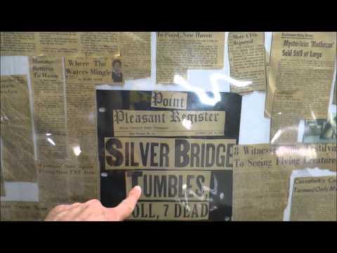 Mothman Museum, Point Pleasant, WV - YouTube