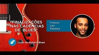 Finalizações das cadências no Blues na Guitarra - Cordas e Música