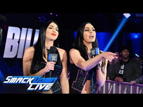 The IIconics interrupt Becky Lynch and Asuka: SmackDown LIVE, Jan. 15, 2019