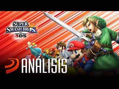 """Análisis de Super Smash Bros (3DS) - """"Oro puro nintendero"""""""