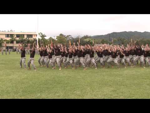 25th Inf. Div. Change of Command Ha'a Koa (Dance of the Warrior)