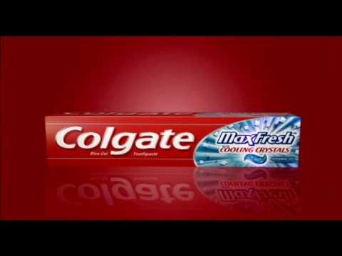 Colgate Max Fresh Train Ad