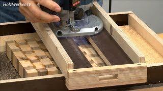 Maschinen-Experte Heiko Rech live (6/6): So fräsen Sie Hirnholzbretter