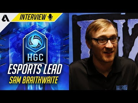 Blizzard Esports Franchise Lead, Sam Braithwaite On Heroes of the ...