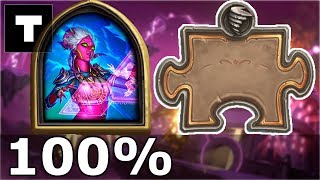 Hearthstone: The Puzzle Lab -  Board Clear | Demonologist Draan 100%