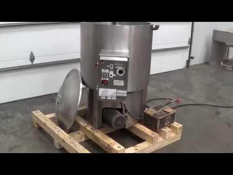 Savage Bros 0970 40 Gal Chocolate Melter Kettle SIGMA Equipment