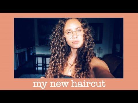 My Ouidad Curly Haircut!