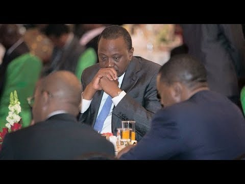 President Uhuru's funny moments at the 2019 Kenya National Prayer Breakfast