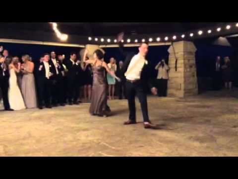 Jenni And Andy BEST Mother Son Wedding Dance EVER