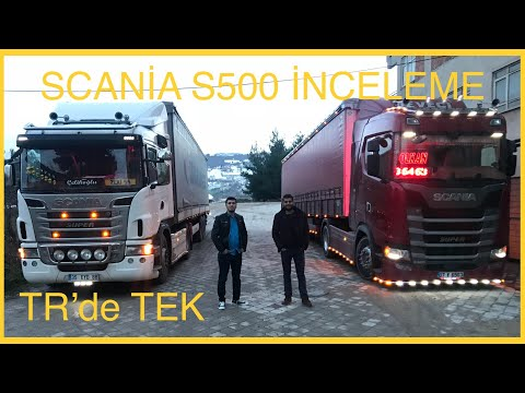 Scania S500 İnceleme ve Test Sürüşü (TR'de TEK)
