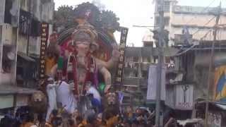 Dhanjiwadi Cha Raja  Visarjan Sohala Vaastav Aarti