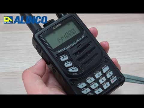 ALINCO DJ-X8 基本操作 VFOモード編